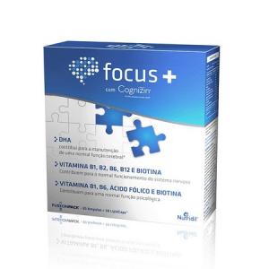 FOCUS + 30 Ampolas + 30 LipidCaps - Nutridil