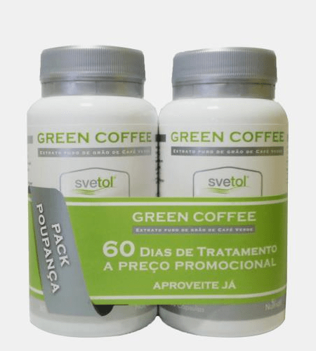 GREEN COFFEE Pack 30 + 30 Cápsulas - Nutridil