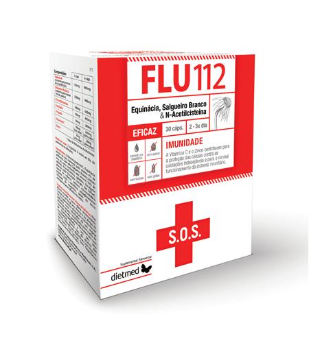 FLU 112 30 Cápsulas - Dietmed