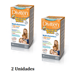 Diviten Geleia Real 300ml Pack 2 unidades - Farmodietica