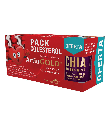 PACK COLESTEROL - Phytogold