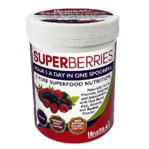 SUPER BERRIES 180g - Health Aid
