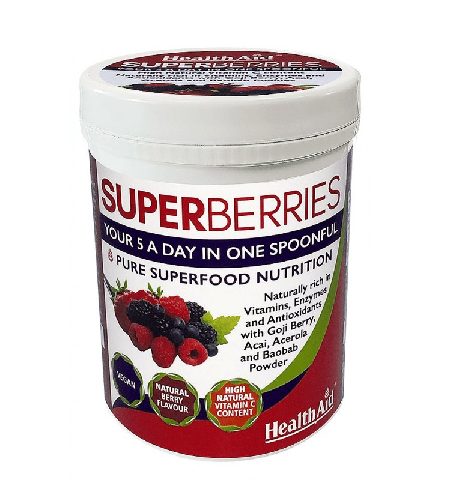 SUPER BERRIES 180g - Health Aid