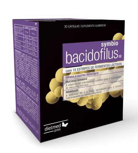 BACIDOFILUS SYMBIO 30 Cápsulas - Dietmed