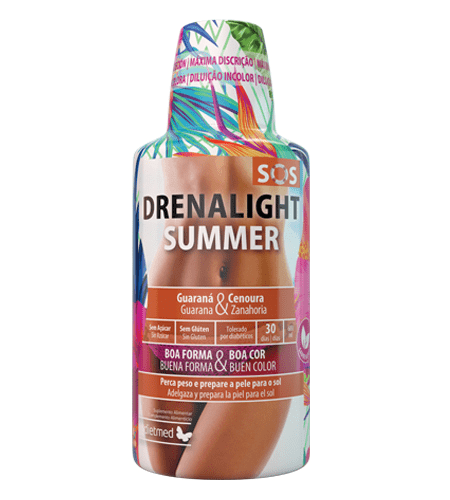 DRENALIGHT SOS SUMMER SOLUCAO ORAL 600ml - Dietmed