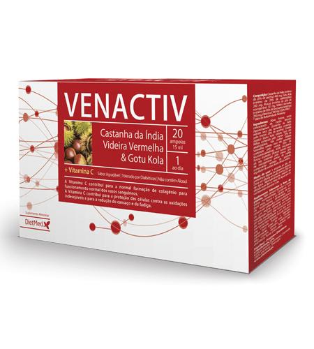VENACTIV 20 Ampolas - Dietmed
