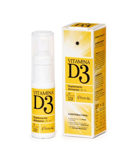 VITAMINA D3 20ml - Natiris
