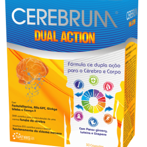 CEREBRUM DUAL ACTION 30 Cápsulas - Natiris