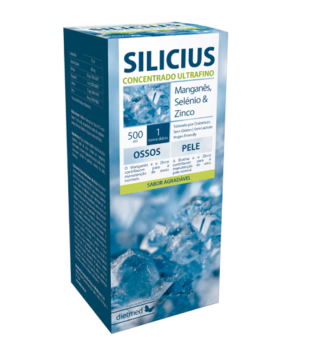 SILICIUS Solução Oral 500ml - Dietmed