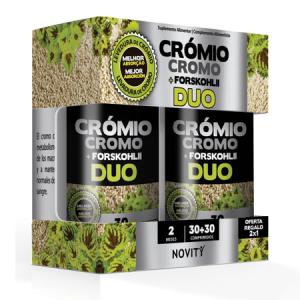 CROMIO + FORSKOHLII DUO 30+30 Comprimidos – Dietmed