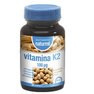VITAMINA K2 60 Comprimidos - Naturmil