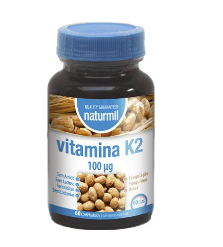 Vitamina K2 60 Comprimidos – Naturmil