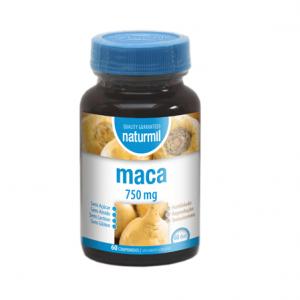 Maca 750mg 60 Comprimidos - Naturmil
