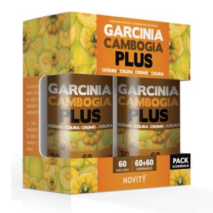 GARCINIA CAMBOGIA PLUS 60+60 Comprimidos - Dietmed
