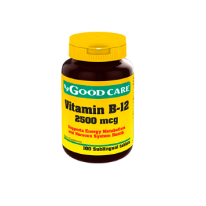 VITAMIN B-12 2500mcg Good Care - Calendula