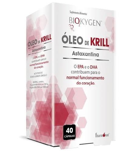 OLEO de KRILL 40 Cápsulas - Fharmonat