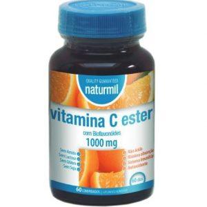 VITAMINA C ESTER C BIOFLAVENOIDES 1000mg 60 Comprimidos - Naturmil