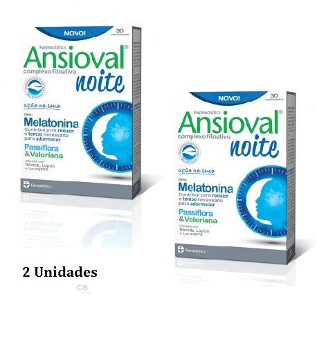 Ansioval Noite Kit 2 Unidades - Farmodietica