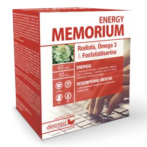 MEMORIUM Energy 60 Cápsulas - Dietmed