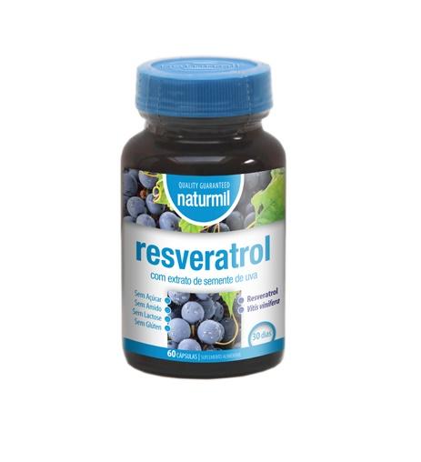 RESVERATROL 60 Cápsulas Naturmil - Dietmed