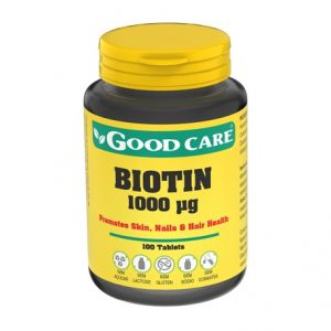 BIOTIN 1000 mg 100 Comprimidos – Good Care