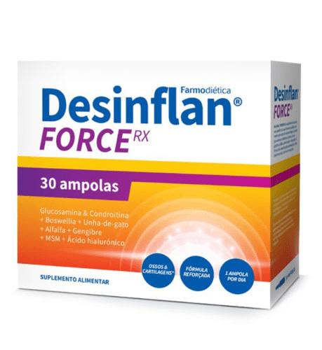 Desinflan Force RX 30 Ampolas – Farmodietica