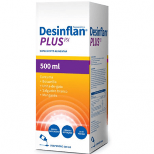 DESINFLAN Plus RX Xarope 500ml - Farmodietica