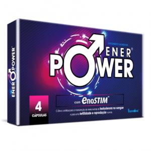 Enerpower Com Enostim 4 cápsulas - Fharmonat