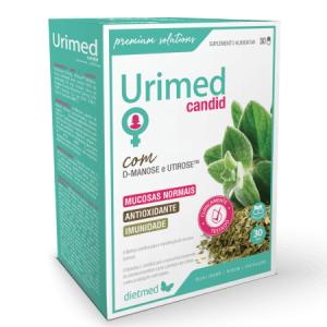 Urimed Candid 30 Cápsulas - Dietmed