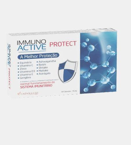 Immuno Activ Protect 30 Cápsulas - Calêndula