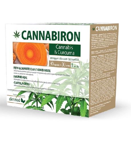 Cannabiron 30 Cápsulas + 30 Comprimidos - Dietmed