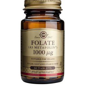 Folato (Metafolin) 1000mcg